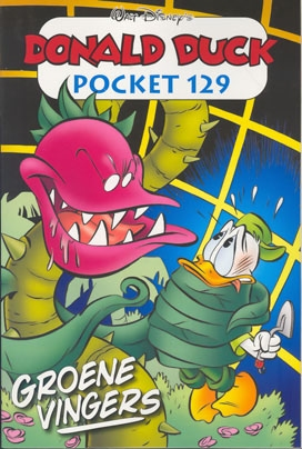 Donald Duck pocket softcover nummer: 129.