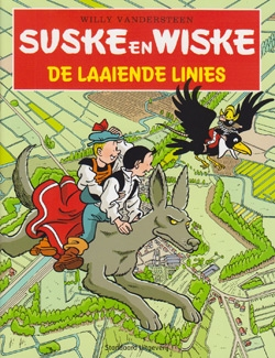 Softcover De Laaiende Linies.