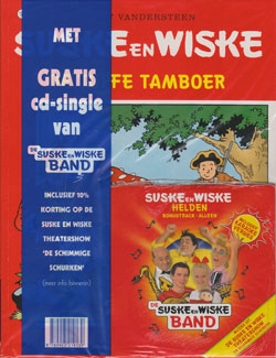 Suske en Wiske softcover nummer: 183 + CD-single helden.