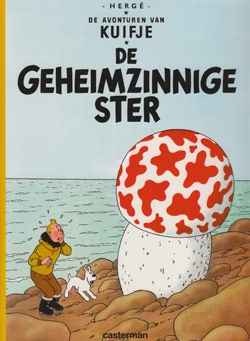 Kuifje softcover De geheimzinnige ster.