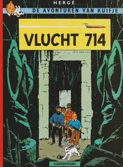 Kuifje softcover Vlucht 714.