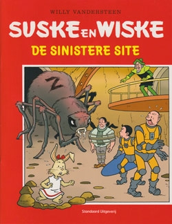 Softcover De sinistere site (PAGE).