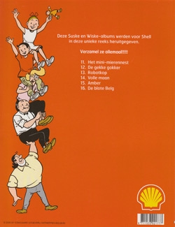 Serie Shell softcover uitgave nummer 7 t/m 16.